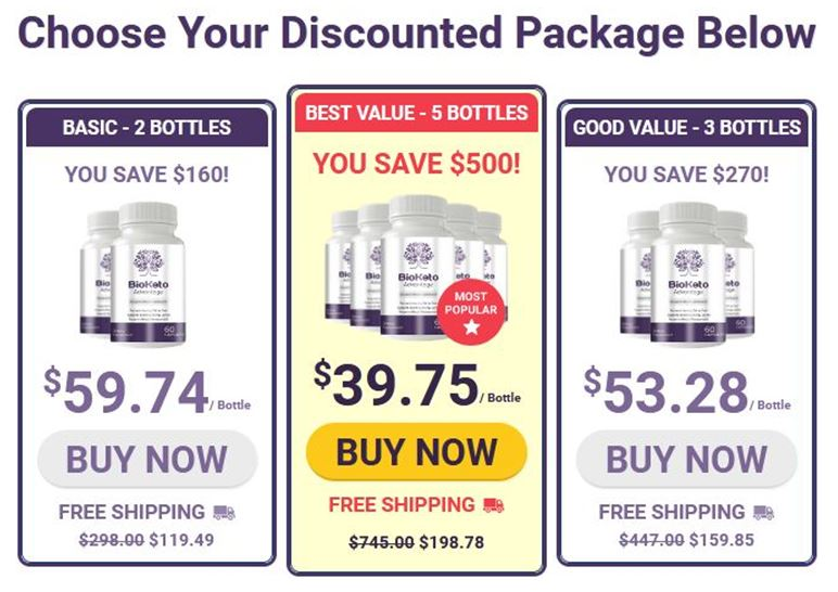 BioKeto Advantage Reviews: (18+ Customers) $39.75with 13 Benefits to buy |  Shark Tank Dietary Supplement